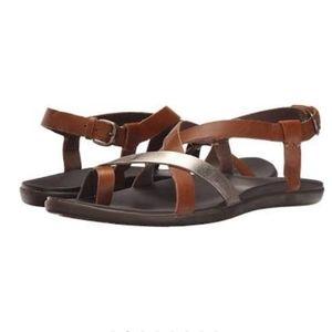 OluKai  Upena Slingback brown sandals